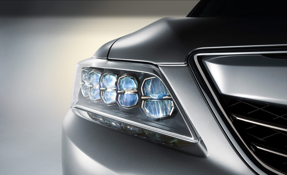 RLX headlights