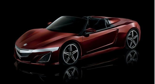 Acura NSX Roadster from 'The Avengers'