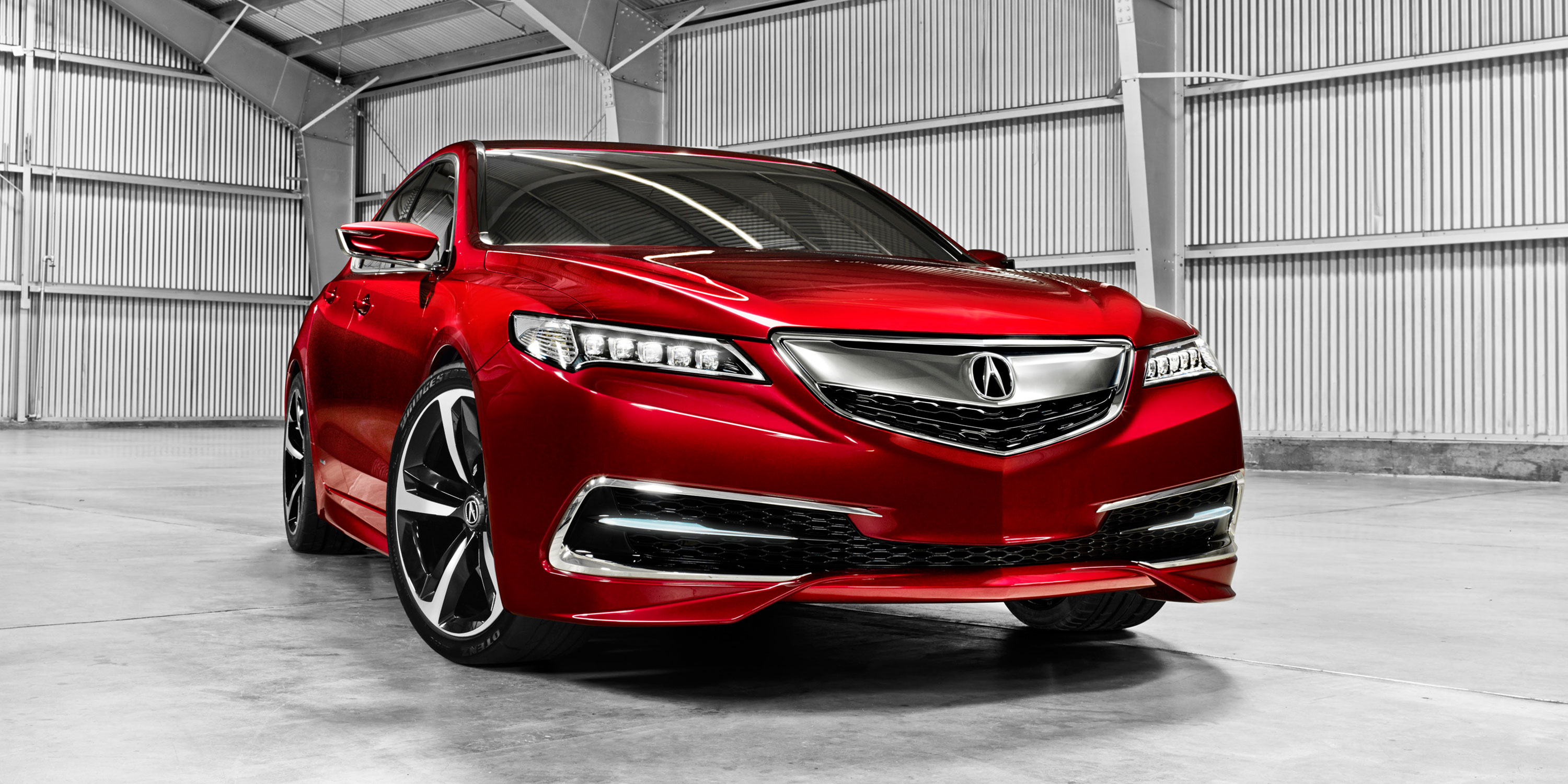 in new york prototype production models acura debut tlx newyork news auto to